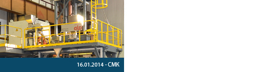 In March 2014 CMK will start the hot tests of the new equipment